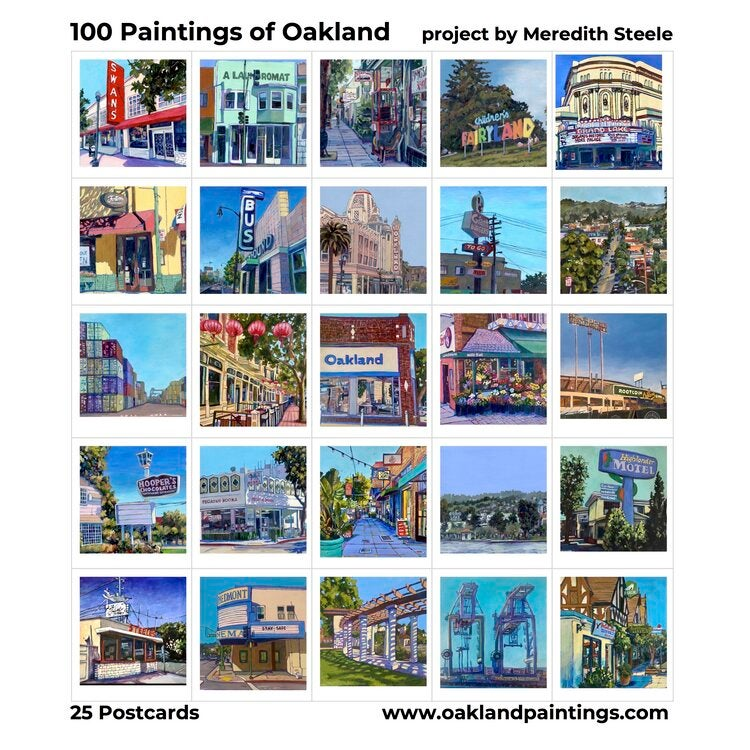 Oakland Paintings Post Card Pack