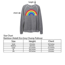 Load image into Gallery viewer, Rainbow Sweatshirt (two colors)