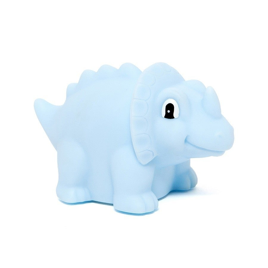 Dino Night Light Triceratops - blue