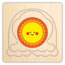 Load image into Gallery viewer, Rainbow Friends 4 Layer Wood Puzzle