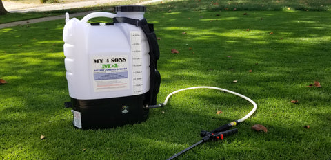 M4 My4Sons 4 Gallon Battery Powered Backpack Sprayer