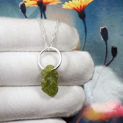 Rough Peridot Ring, Peridot Pendant, Rough Jewellery, 925 Silver Ring, Sterling Silver Ring, Birthstone Pendant, Unique Pendant, JPZ1202