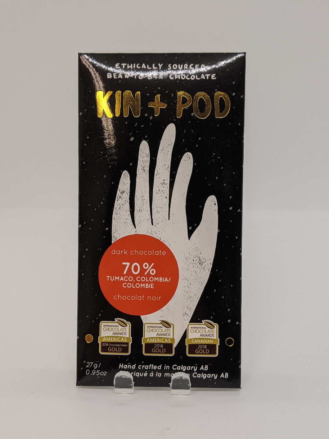 Kin + Pod 70% Dark Chocolate