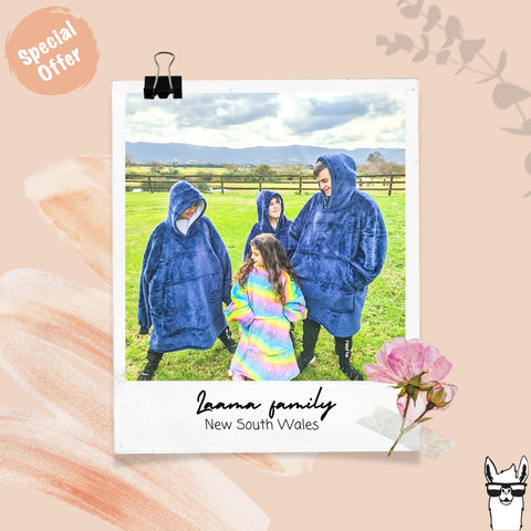 Laama clothing hooded blankets reviews