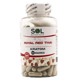 red thai kratom capsules 120