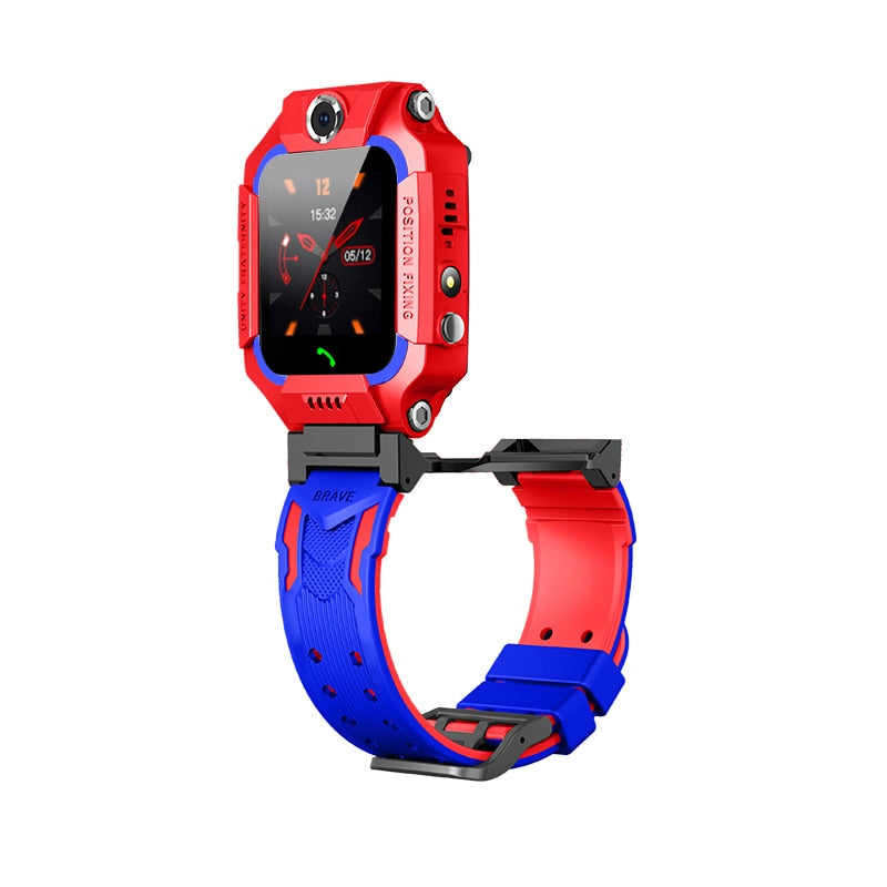 Kids Smart Watch With SIM Card Waterproof Kids Smartwatch Children's Watches For Android IOS Dual Cameras Baby Voice Chat