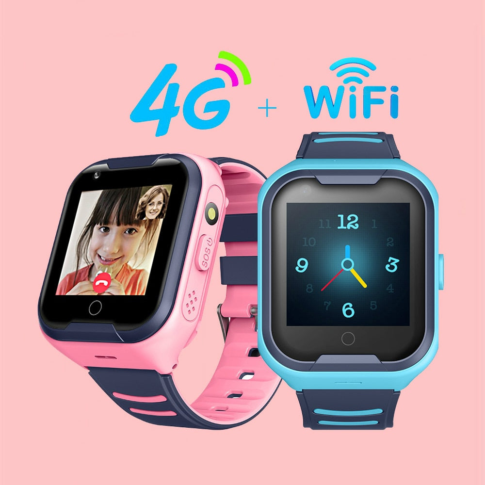 2020 Kids Smart Watch SOS Anti-lost Baby 4G SIM Card GPS WIFI Call Location LBS Tracking Smartwatch   kid smart watch children