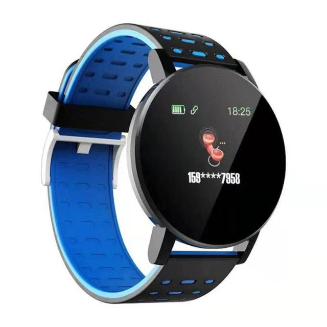 SHAOLIN Smart Bracelet Heart Rate Smart Watch Man Wristband Sports Watches Band Smartwatch Android With Alarm Clock