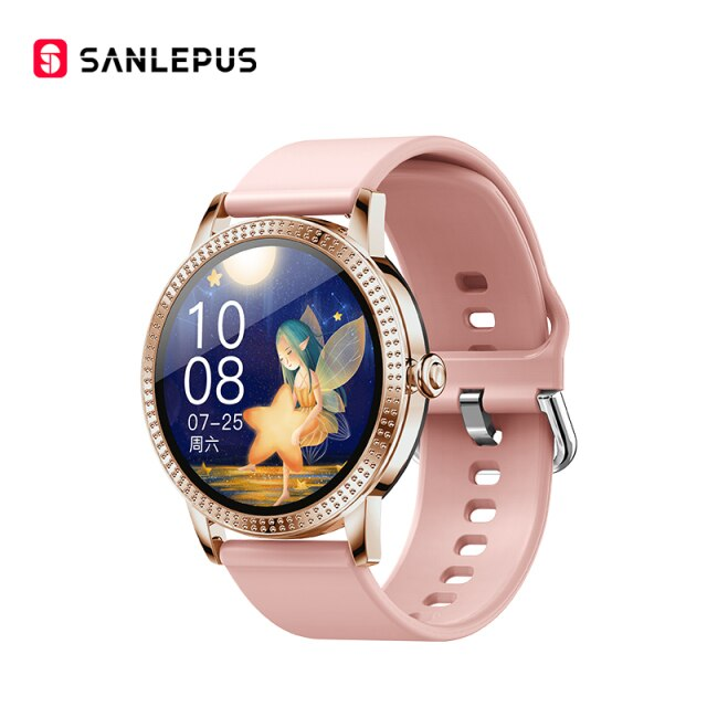 2021 NEW SANLEPUS Fashion Smart Watch Couple Watches Men  Women's Smartwatch Sports Fitness Bracelet For Android Apple Xiaomi