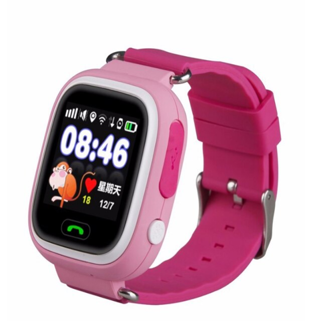 Best selling android IOS camera smartwatch q90 kids smart gps watch for children