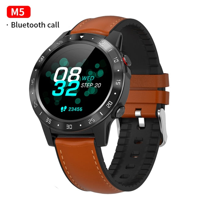 SMAWATCH M5 Smart Watch Smartwatch GPS Bluetooth Calling Compass Barometer Altitude Outdoor Smartwatch Smart Watch Men Women