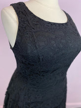 Load image into Gallery viewer, Classic Black Lace A-Line Dress by Torrid, Size 16