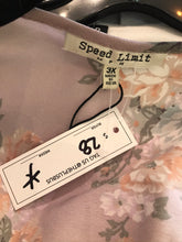 Load image into Gallery viewer, Pale Pink and Black Multiprint Duster by Speed Limit, Size 3X