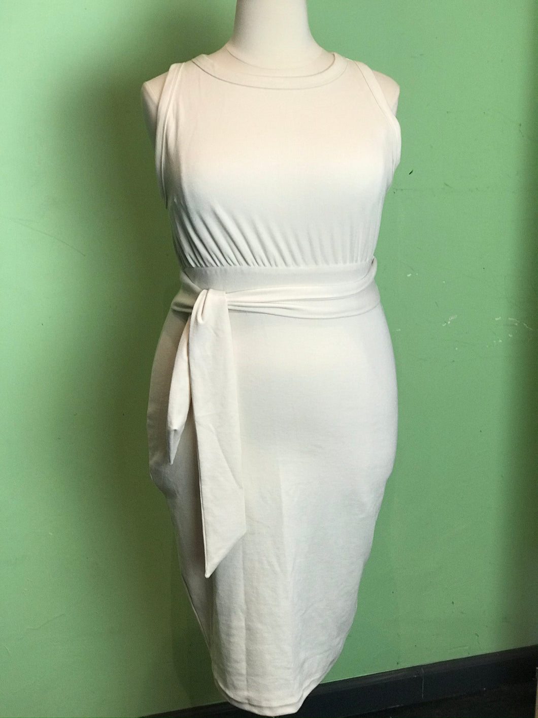 Chic Cream Fashion Nova Dress, Size 2X