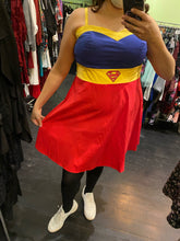 Load image into Gallery viewer, Superman Dress, Size 16