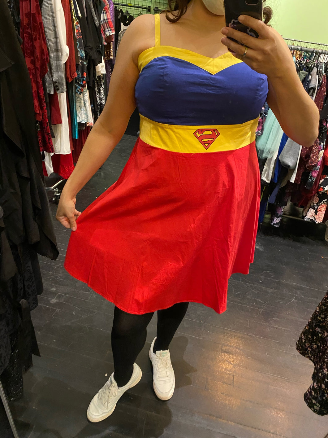 Superman Dress, Size 16