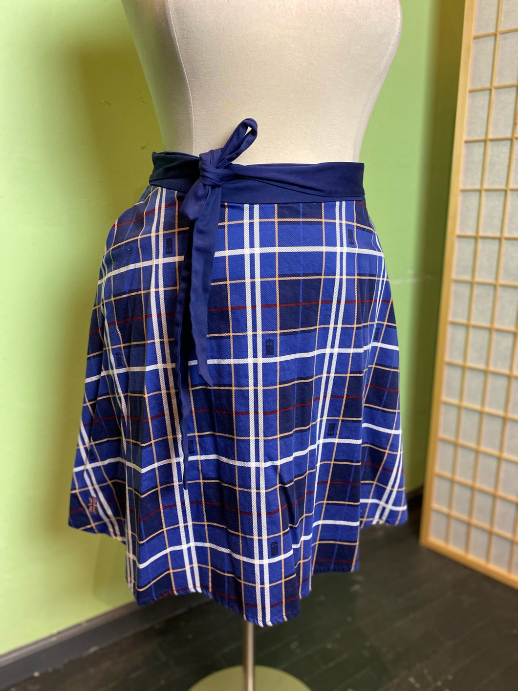 Dr. Who Tardis Skirt, Size 18