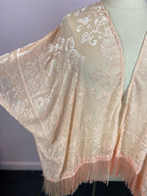 Load image into Gallery viewer, Shimmery Pink Patterned Shawl, MIXIT One Size