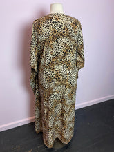 Load image into Gallery viewer, Leopard Print Caftan by Debshops, Size 1X