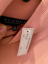 Load image into Gallery viewer, Blush Pink Turtleneck Sweater Dress with Belt by Eloquii, Size 16