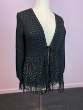 Load image into Gallery viewer, Boho Chic Avenue Knit Tie-Front Cardigan, Size 22/24