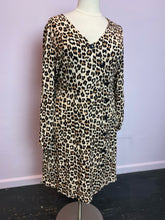 Load image into Gallery viewer, Leopard Print Midid Dress, Just Fab 2X
