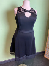 Load image into Gallery viewer, City Chic Little Black Dress with Mesh, Size XS