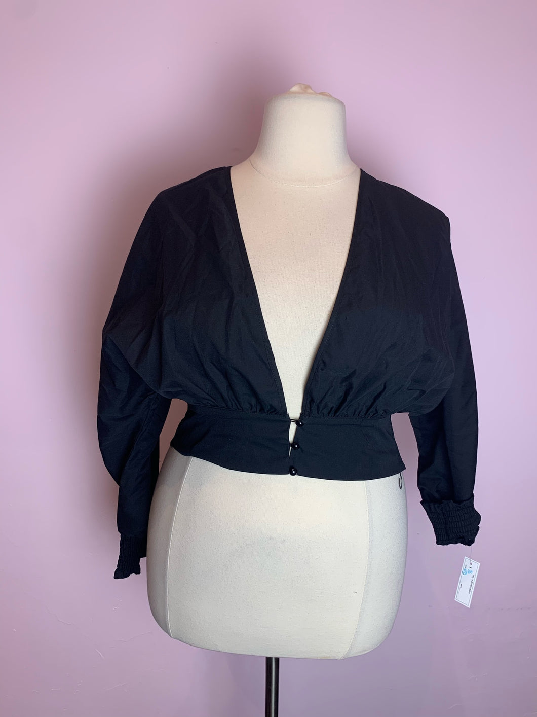 Fitted Black SHEIN Top, Size 3XL