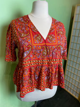 Load image into Gallery viewer, Madewell Paisley Top, XXL