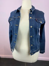 Load image into Gallery viewer, Deep Blue Dark Wash Denim Jacket by Levi's, Size XL