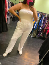 Load image into Gallery viewer, White Strapless Jumpsuit by Popular Basics, Size 1X