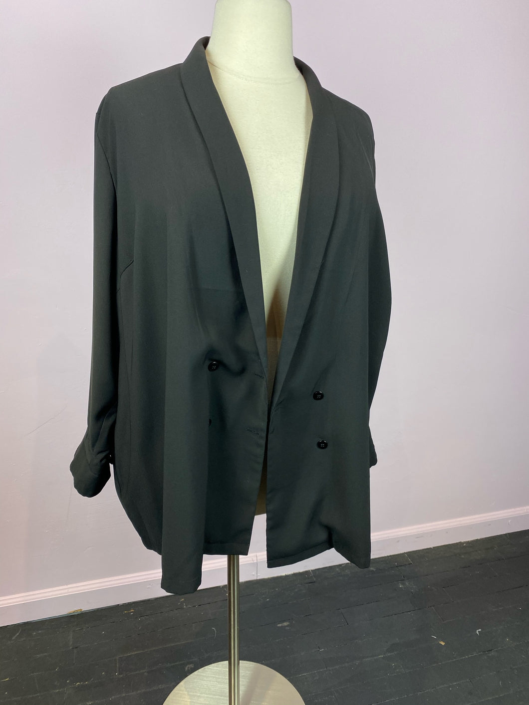 Sleek Relaxed Simply Be Blazer, Size 24