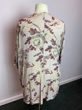 Load image into Gallery viewer, Blush Pink Embroidered Floral Multiprint Duster by Knox Rose, Size 2X