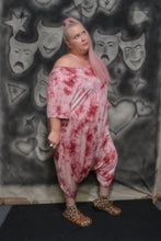 Load image into Gallery viewer, Pink Tie Dye Bubble Romper