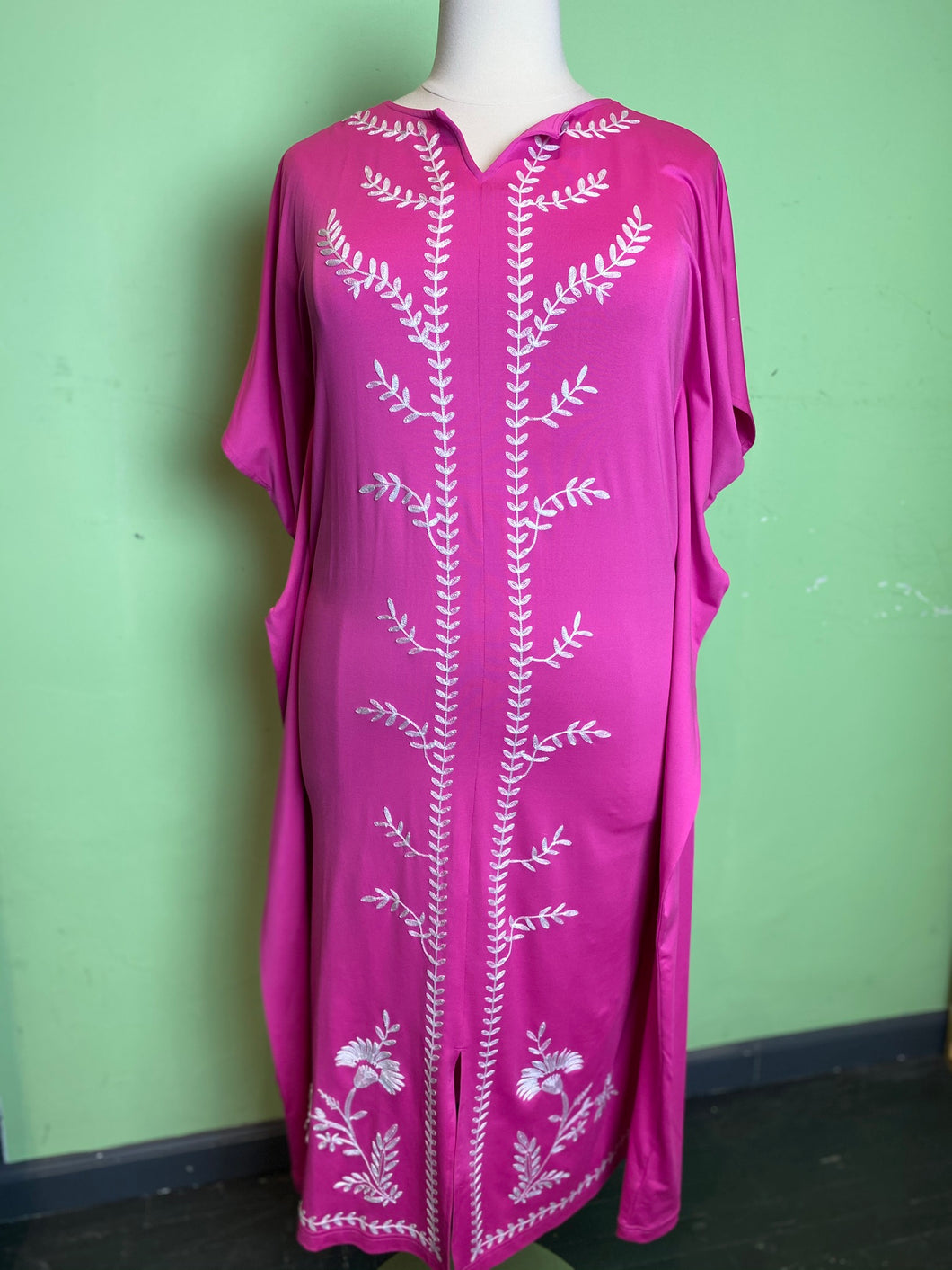 Joan Rivers Pink Caftan, Size 2X