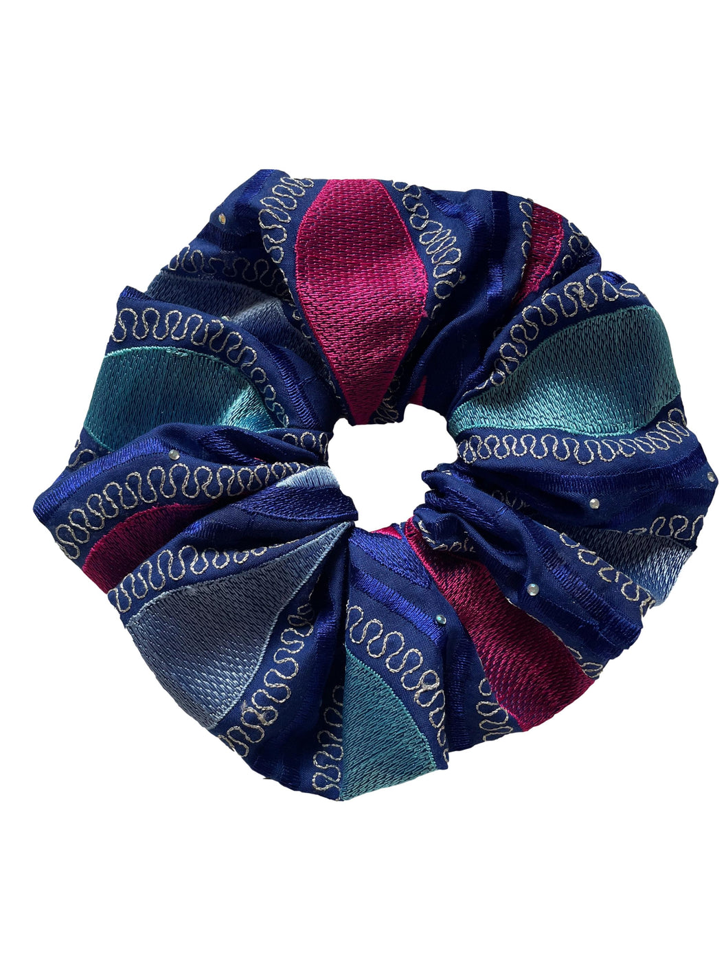 Jumbo Multi Color Scrunchie