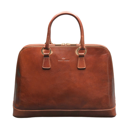 Fiona Brown Satchel Bag