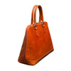 Fiona Orange Satchel Bag