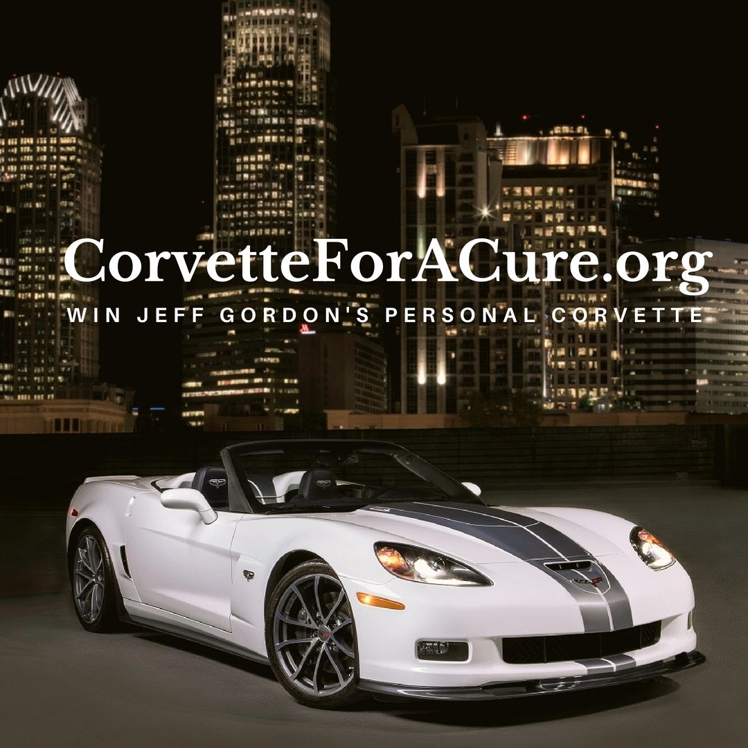 Photo Of Corvette For A Cure You Could Win Jeff Gordon Personal Corvette And Up To $15,000