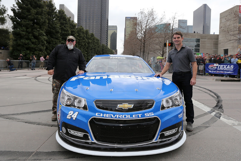 NASCAR Superstar Honored With