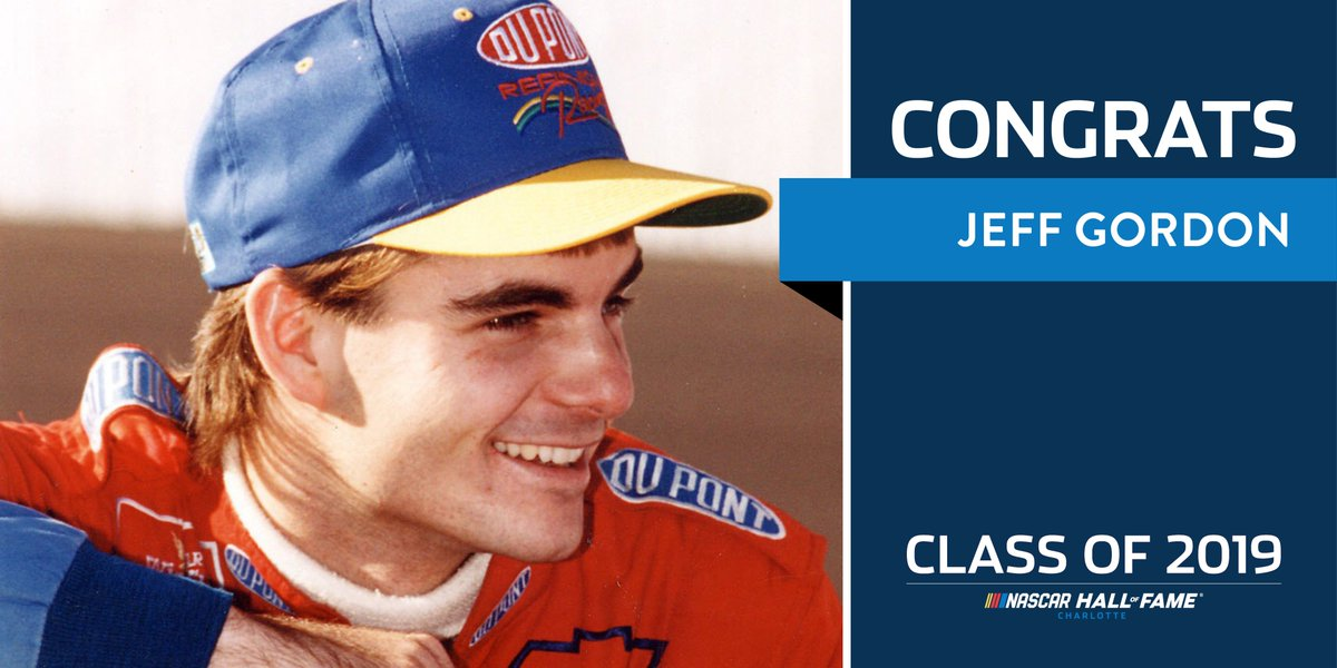 Photo Of Jeff Gordon Named to 2019 NASCAR Hall of Fame Class