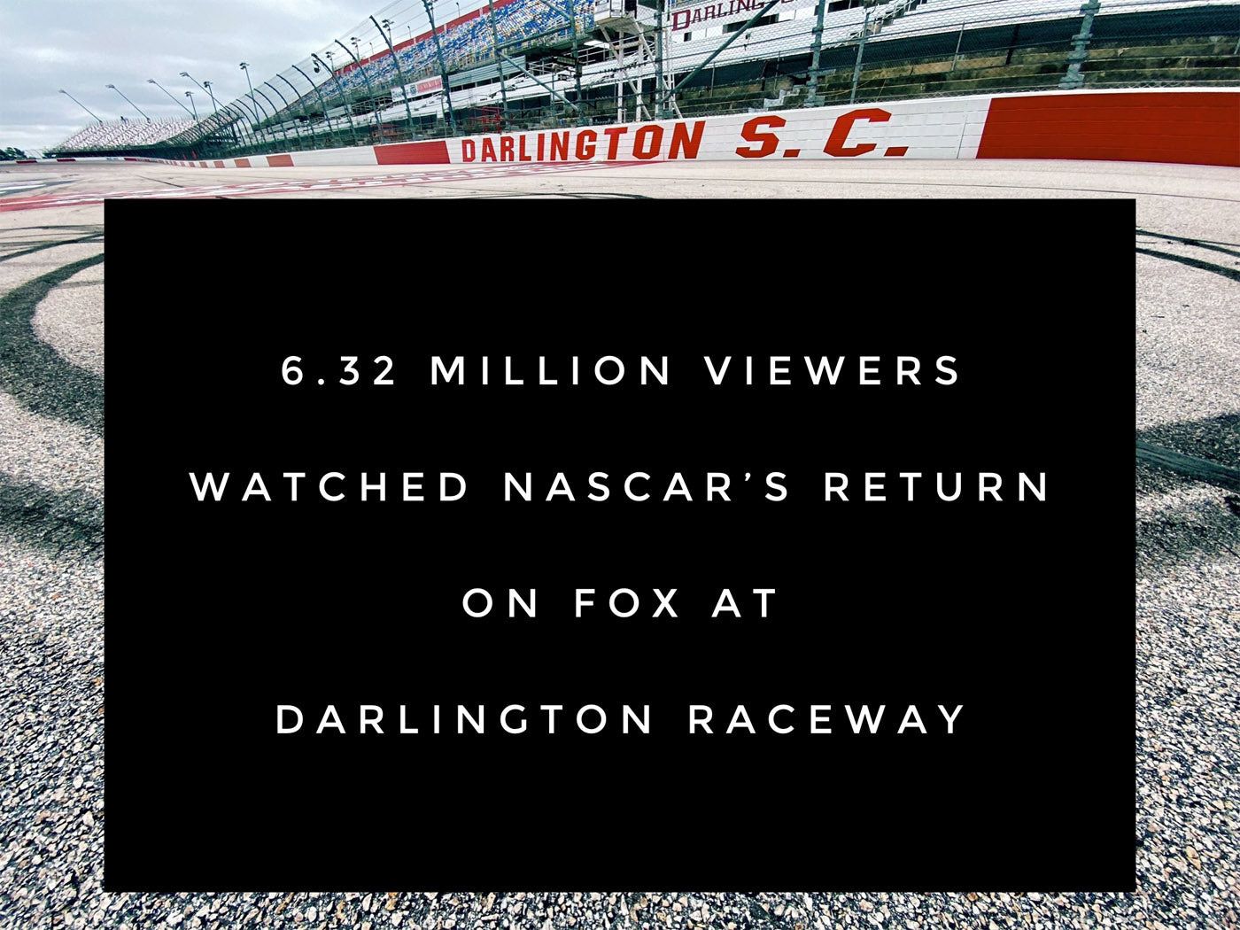 FOX NASCAR Gets Back to Business in a Big Way