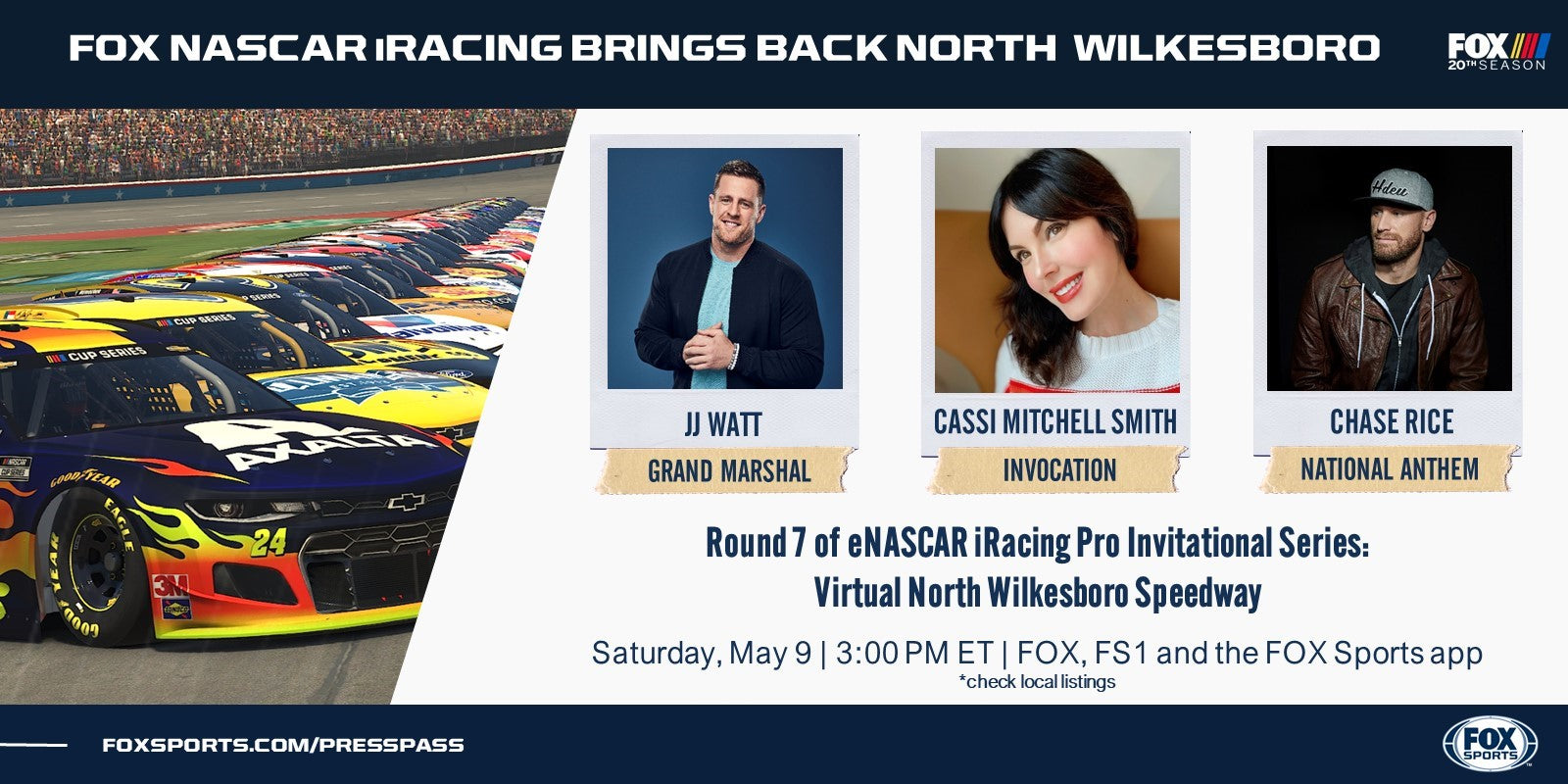 Jeff Gordon to Drive in Saturday's eNASCAR iRacing Pro Invitational Series Event at Virtual North Wilkesboro Speedway