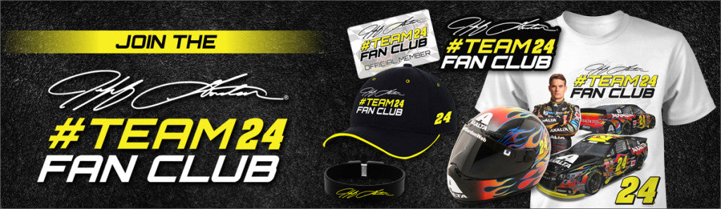 Join the Jeff Gordon #Team24 Fan Club