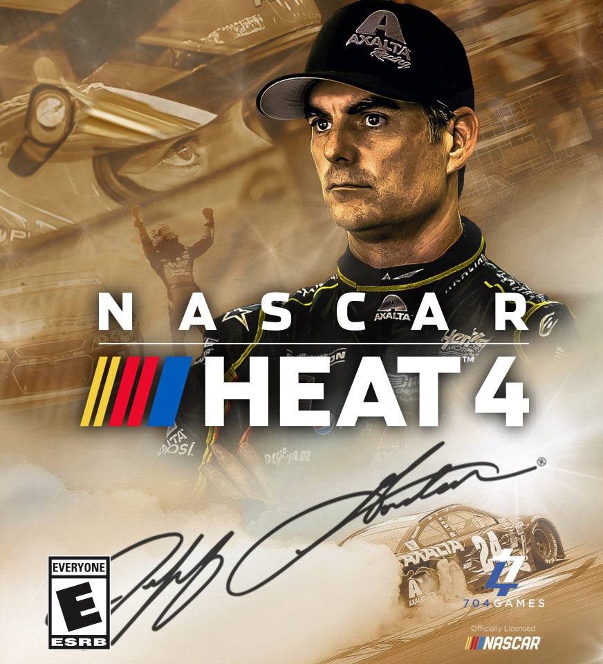 The Jeff Gordon NASCAR Heat 4 Gold Edition Contest Giveaway - 5