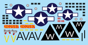 B-17G Flying Fortress Stickers