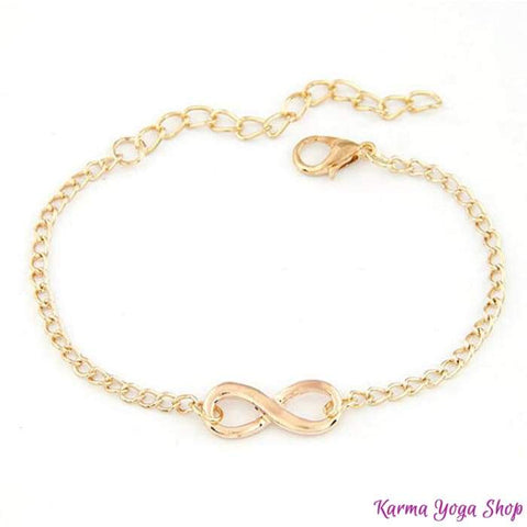 Bracciale Infinity - Gold o Silver