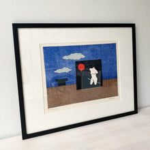 Load image into Gallery viewer, Vintage print, surreal motif