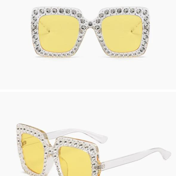 Hot!Fashion Oversized Square Sunglasses