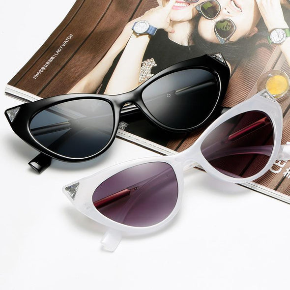 cat eye Sunglasses with diamond